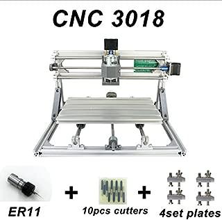 zmart USB CNC3018 ルーター + 5500mW +ER11レーザー加工機 ソフト オリジナル日本語説明書つき