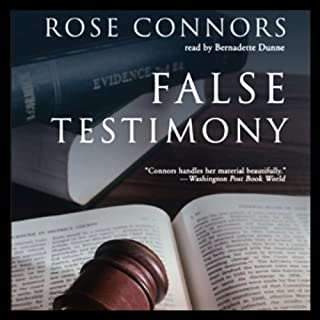 False Testimony audiobook cover art