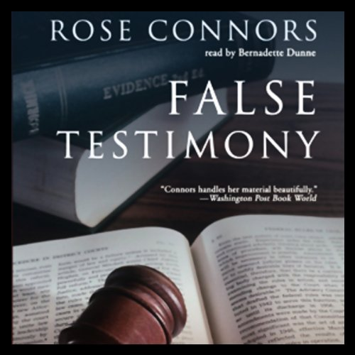 False Testimony audiobook cover art