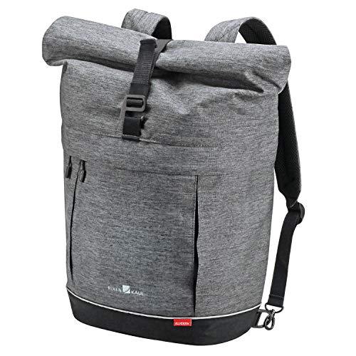 KlickFix Freepack Switch Enkele Fietstas, Grey-Black, 18 Liter