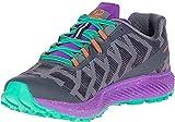 Merrell Women's Agility Synthesis Flex Trail Runner Shoe Running, Black, 5