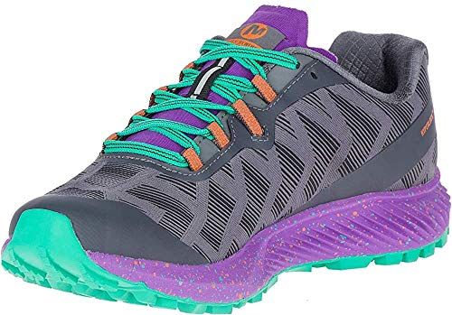 Merrell Women's Agility Synthesis Flex Trail Runner Shoe Running, Black, 9 M US