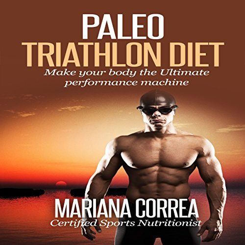 Paleo Triathlon Diet audiobook cover art