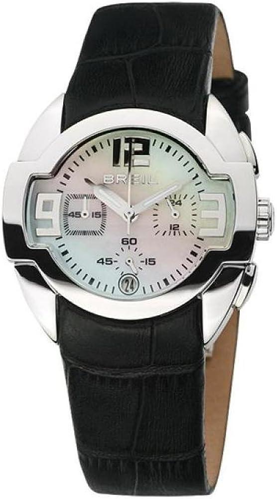 Breil Reloj analogico para Mujer de Cuarzo con Correa en Piel BW0048