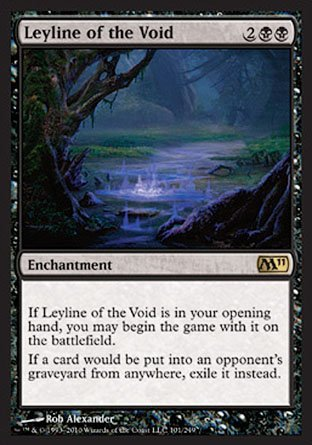 Magic: the Gathering - Leyline of The Void - Magic 2011 - Foil