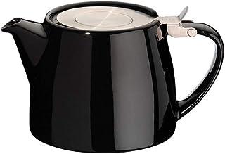 Forlife FST-530-BLK Stump czajniczek 530 ml, czarny, ceramiczny