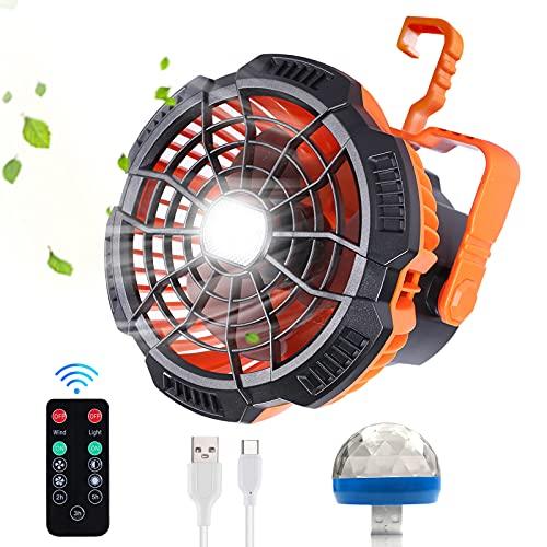 Best battery powered tent fan