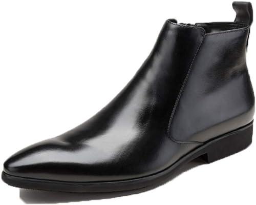 YCGCM Stiefel De Hombre De Negocios Stiefel Coreanas Stiefel Altas Stiefel Martin