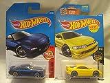 Hot Wheels Custom '01 Acura Integra GSR & '95 Mazda RX-7 Die Cast 1/64 Scale 2 Car Bundle!