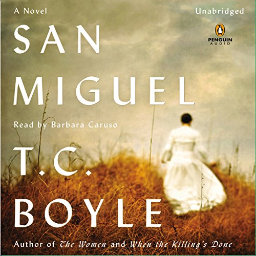 San Miguel audiobook cover art