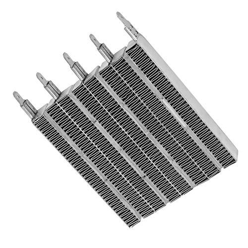 Parte di ricambio per riscaldatore ad aria, alta efficienza di trasferimento del calore Piastra riscaldante per riscaldatore ad aria in ceramica PTC Temperatura costante automatica per