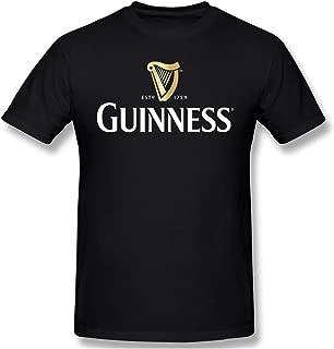 Linunang Tee Shirt Homme Tee Shirt Baseball Guinness en Coton avec Manches Raglan