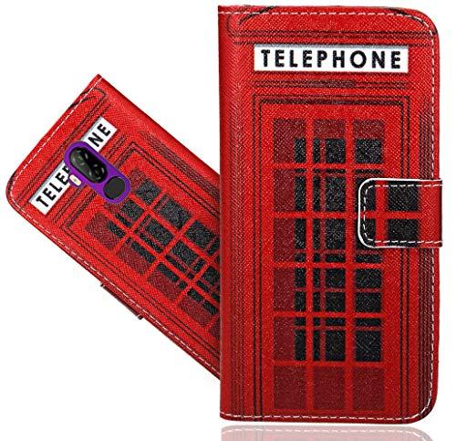 CaseExpert Ulefone P6000 Plus Handy Tasche, Wallet Case Flip Cover Hüllen Etui Hülle Ledertasche Lederhülle Schutzhülle Für Ulefone P6000 Plus