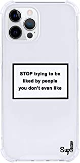 Trendy Witty Motivational Quotes Phone Case Thin Slim Shockproof Protective TPU Bumper Hard PC Back Cover Fashion Designer...