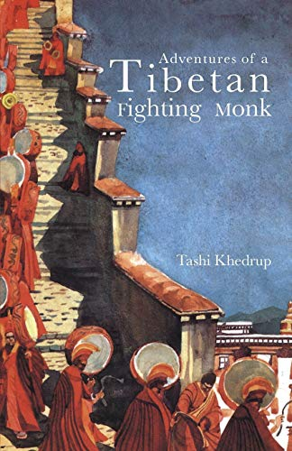 Adventures of a Tibetan Fighting Monk (Asian portraits)