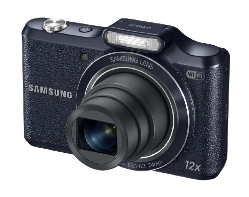 Samsung WB50F 16.2MP Smart WiFi & NFC Digital Camera with 12x Optical Zoom and 3.0