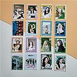 BLOUR 16 Stück/Set KPOP LOONA Girls Team Neues Album So Wha Butterfly Fotokarte PVC-Karten...