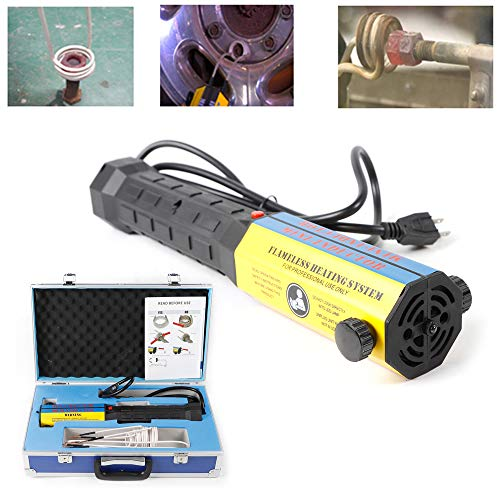 Buy CNCEST Mini Ductor Magnetic Induction Heater Kit Equipment 110V Automotive Flameless Heater Repa...