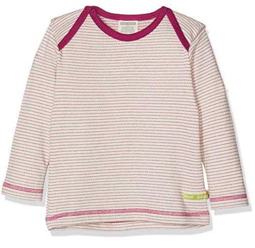 loud + proud loud + proud Kinder-Unisex Shirt Langarm Frottée Langarmshirt, Violett (Orchid or), 68