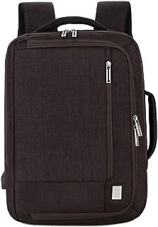 Asdfnfa Laptop Backpack, Travel Computer Bag Vintage Handbag Business Bag for Women Men,School College Backpack Fashion Backpack (Color : Brown)