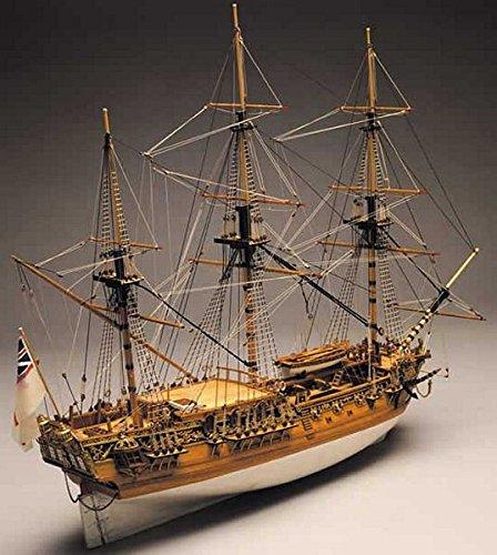 Panart Royal Caroline 1 47th Scale Wooden Model Ship Kit 750