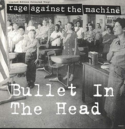 RAGE AGAINST THE MACHINE / BULLET TO THE HEAD (RED & WHITE VINYL)