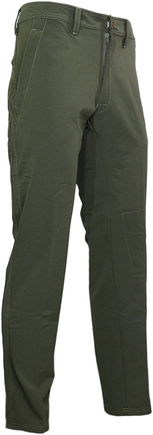 Raptor Hunting Solutions Mens Sports Trousers Quick-dry 4-way Stretch Green