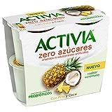 Activia Zero con Piña y Coco 4x115 g