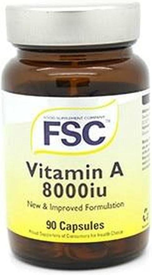Fsc Vitamin A Genuine 7500Iu Capsules specialty shop 90