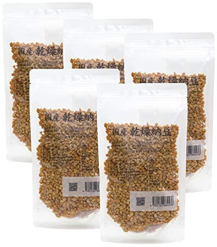自然健康社 乾燥納豆 100g×5袋 チャック付袋入り