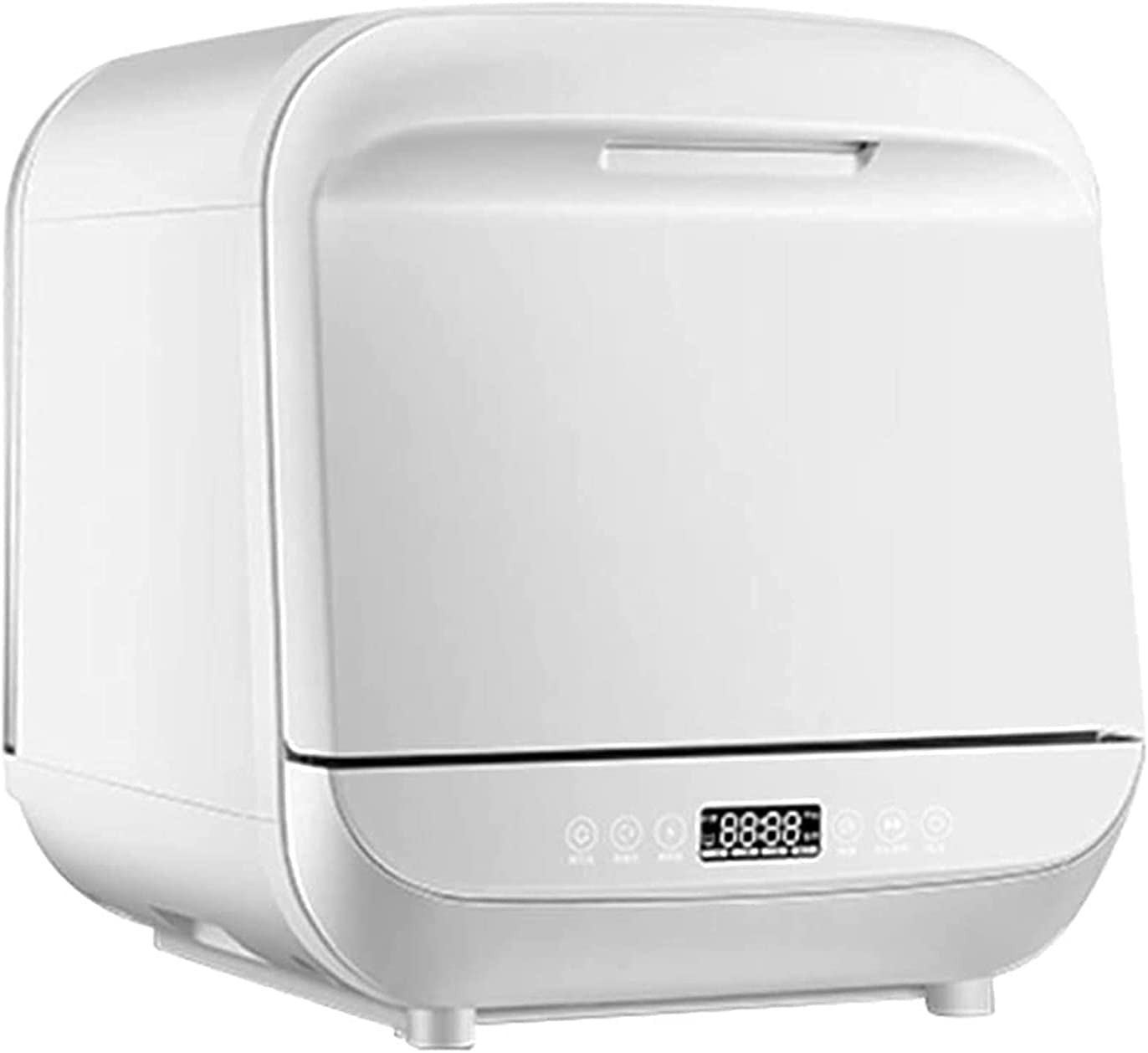 MOSHUO Lavavajillas de encimera portátil de 950 W, 3 Modos de Lavado Mini lavavajillas de Mesa con Pantalla táctil de luz LED, energía, vajilla de Almacenamiento para cocinas caseras