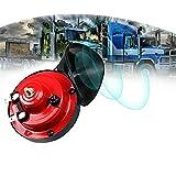 12V Tromba per Auto110dB,Corno per Auto Impermeabile, Clacson Auto Universale,Clacson Elettrico per Camion, Fuoristrada,Auto,Barche e Motocicli