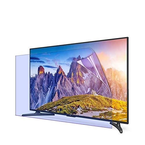 GFSD Protectores de Pantalla TV Película Filtro Anti Luz Azul Deslumbramiento Protección para Los Ojos para Pantalla HDTV LCD, LED, OLED Y QLED 4K De 32-75 Pulgadas