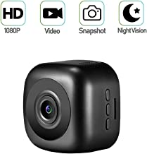 Mini Spy Camera, Mofek Portable Small 1080P HD Hidden Camera Nanny Cam with Night Vision for Home, Car, Office/Outdoor (Cam#2)