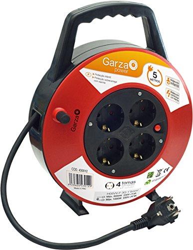 Garza Power kabelhaspel. Domestico 5m Corto