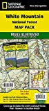 White Mountain National Forest [Map Pack Bundle] (National Geographic Trails Illustrated Map)