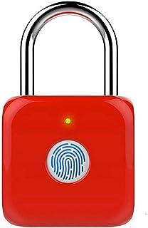 ECSWP WODEDAN USB Rechargeable Empreinte Digital Cadlock Smart Appuyez sur Smart Appuyez sur Métal Ligent Key sans clé pou...