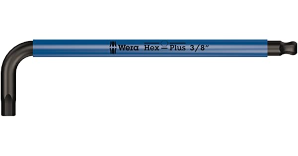 Wera 05022638001 Hex key for 950 SPKL 3//8x224mm