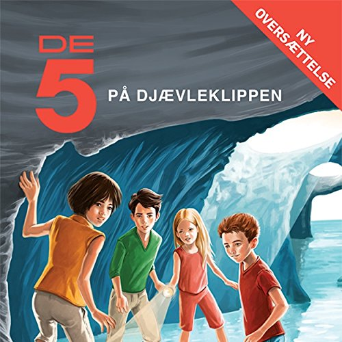 De 5 på Djævleklippen audiobook cover art