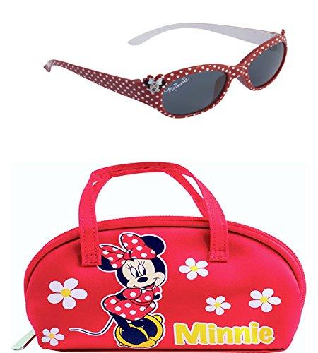 Disney Occhiali da sole del mouse di Minnie e vetri Caso Set