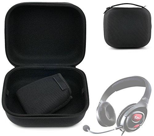 DURAGADGET Custodia Rigida per Creative Fatal1ty PRO Series | Sound Blaster Evo/ZX/Jam | HQ-1600 | Labs Aurvana Live | Aurvana Platinum | Tactic 3D Alpha - con Maniglia - Protezione 100%