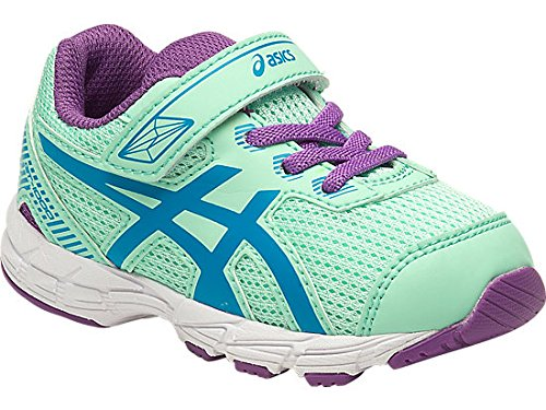 Asics ASICS 5 TS Kids (K4 USA - 19,5 EUR) (Mint/Blue Jewel/Orchid)