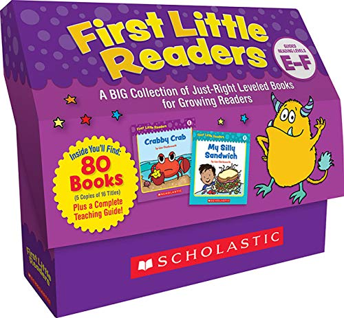 scholastic book sets Scholastic First Little Readers, Set of 80, Level E-F