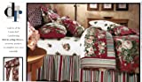 DAN RIVER Lisette Red Bed in A Bag-Twin Size