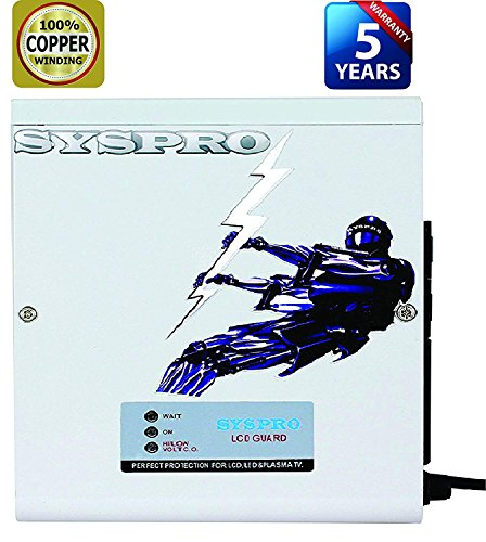 SYSPRO Turbo Plus Voltage STABILIZER for LED and Copper Coil (145-280 V)...