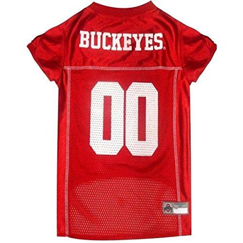 Ohio State Buckeyes Pet Jersey - X-Large