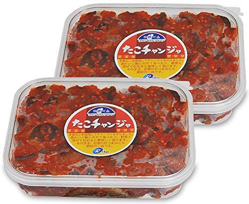 韓国の味タコ(手長たこ)のキムチ200g×2個セット(翌日出荷可)
