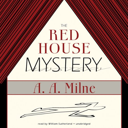 The Red House Mystery audiobook cover art