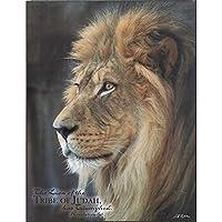 El León de la tribu de judá ha triunfado revelación de 5: 5Madera 13x 10arte de pared placa