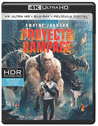 Proyecto Rampage 4k Uhd [Blu-ray]